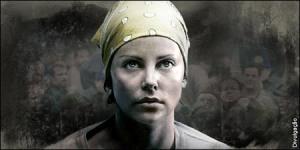 Imagem de divulgação do fiilme Terra Fria com Charlize Theron